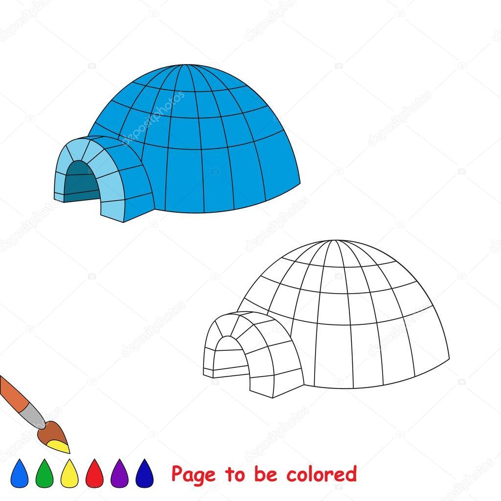 Imágenes Dibujo De Iglu Para Niños Dibujos Animados De