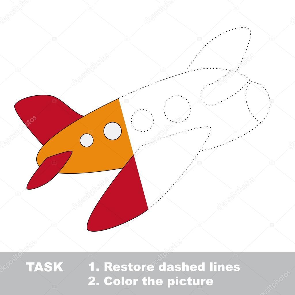 Aviones Infantiles Para Imprimir Avión Para Colorear Juego De