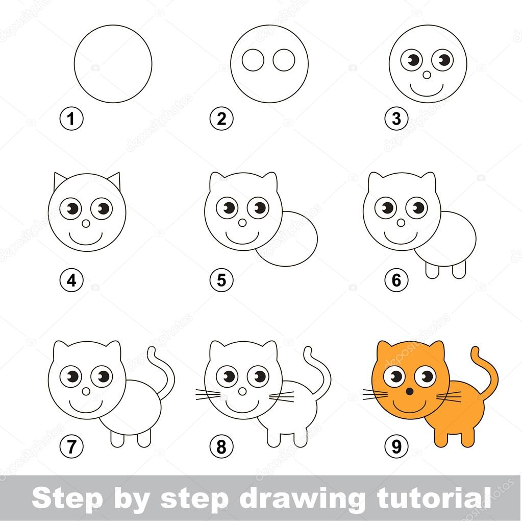 step by step drawing - HD1300×1296