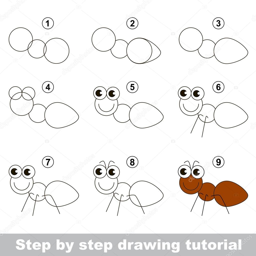 how to draw a di