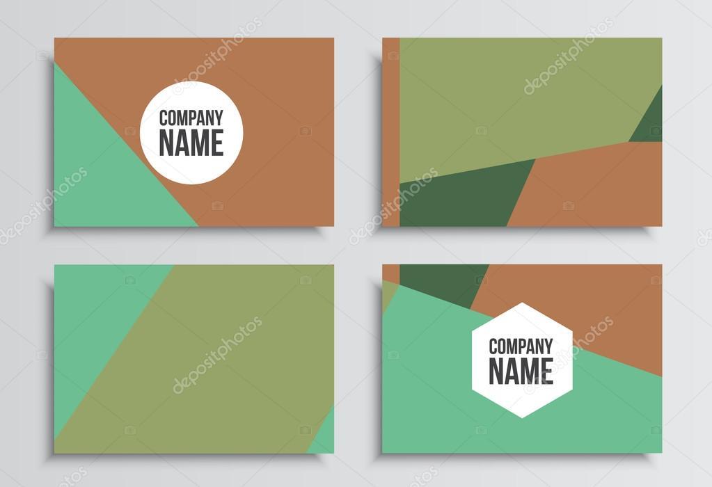 ビジネス カードコーポレート アイデンティティのテンプレートです