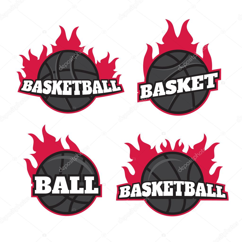 Professional logo for basketball game templates set logotypes professional logo for basketball game basketball logo templates set basketball logotypes sign symbol badge vector vector by myub biocorpaavc Choice Image