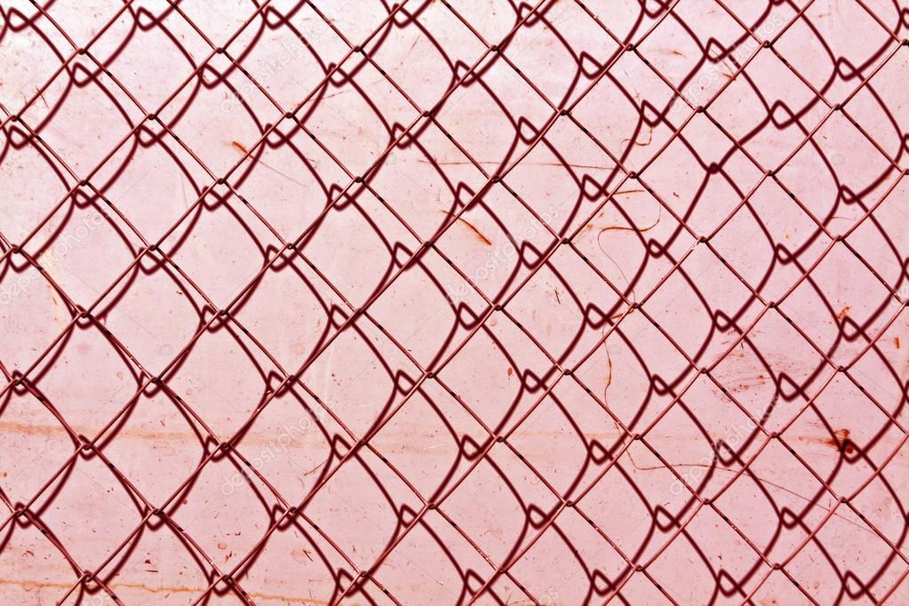 abstrakte Kette Link Zaun Textur Grunge Farbe Wand — Stockfoto ...