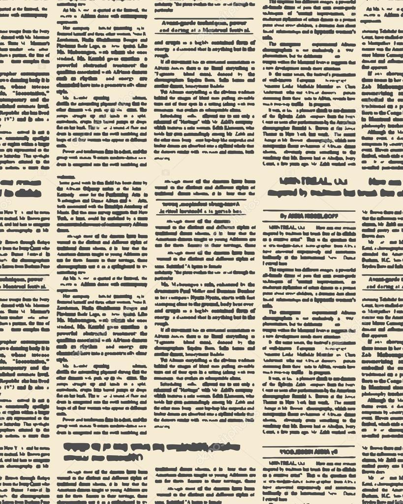 Fondo: periodico   Viejos patrones sin fisuras del periódico. Fondo ...