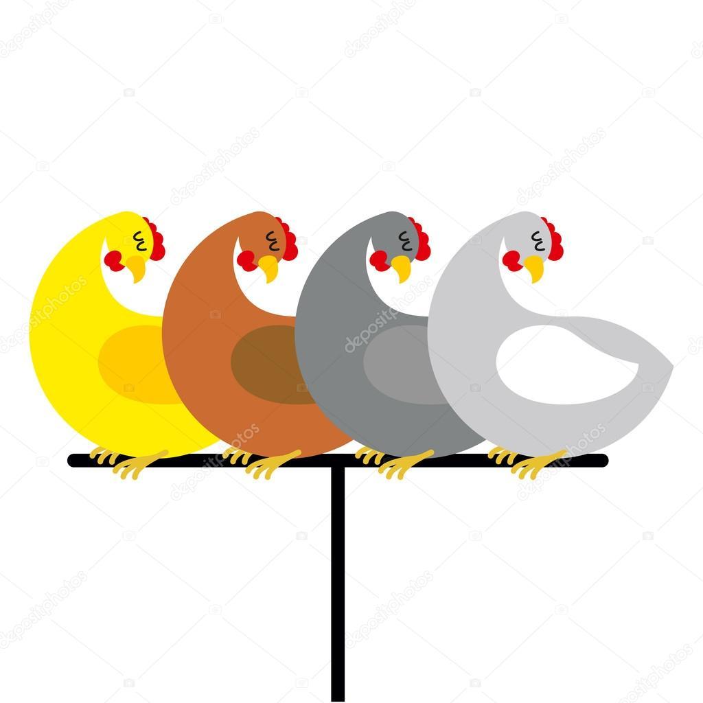 Картинка с птичками на жердочке, картинки чихуахуа
