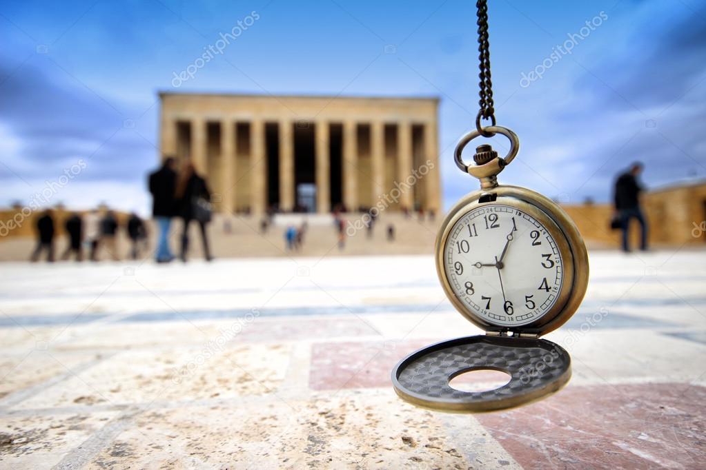 Turkey Ankara mausoleum and time