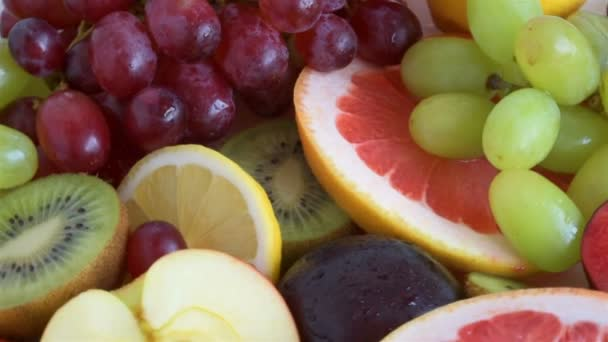 fruit slices close-up