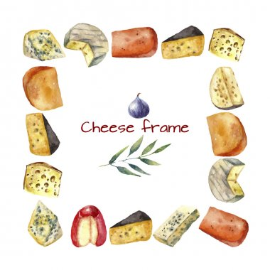 Cheese frame.