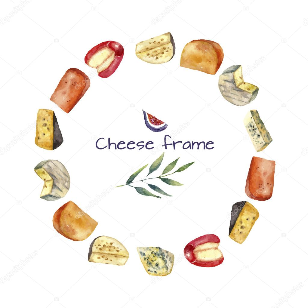 Cheese round frame.