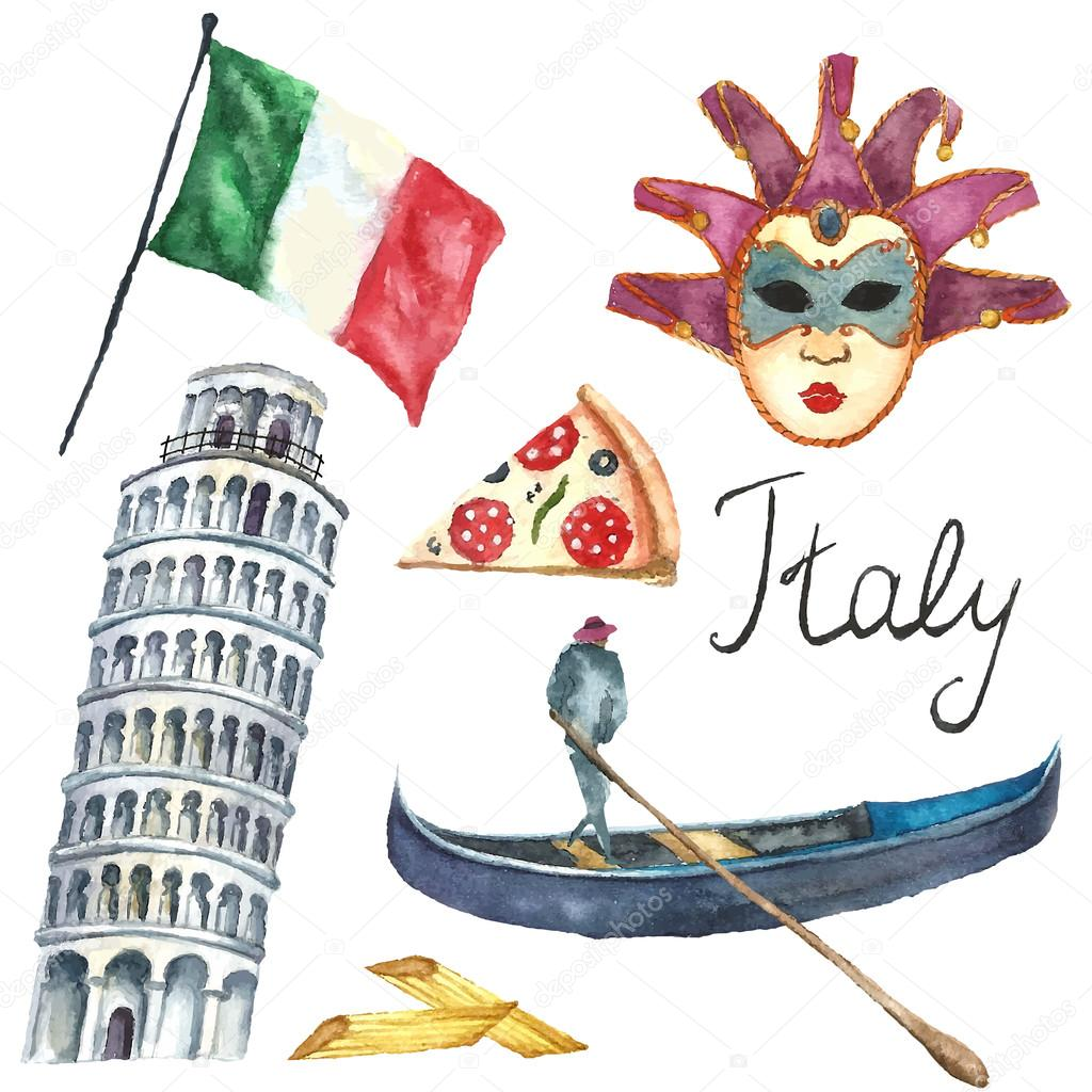 how to draw italy map