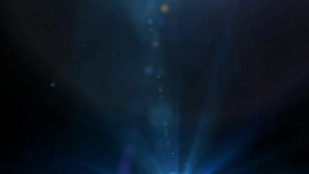 Partikel und Licht Flares Hintergrund