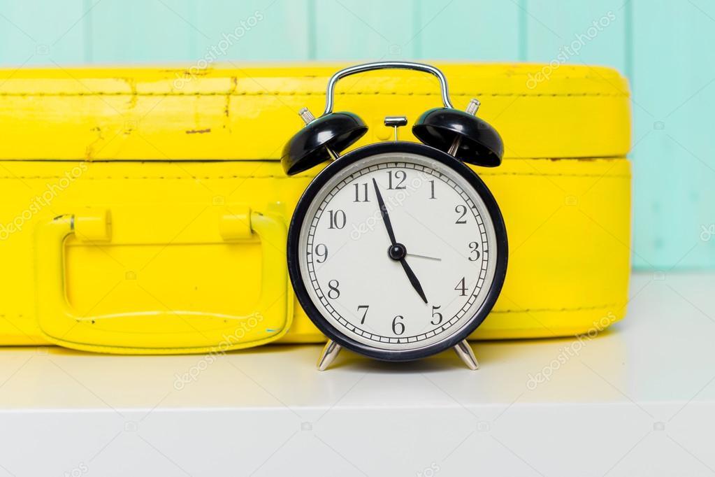 Vintage Style Alarm Clock Stock Photo Fotofabrika 103141854
