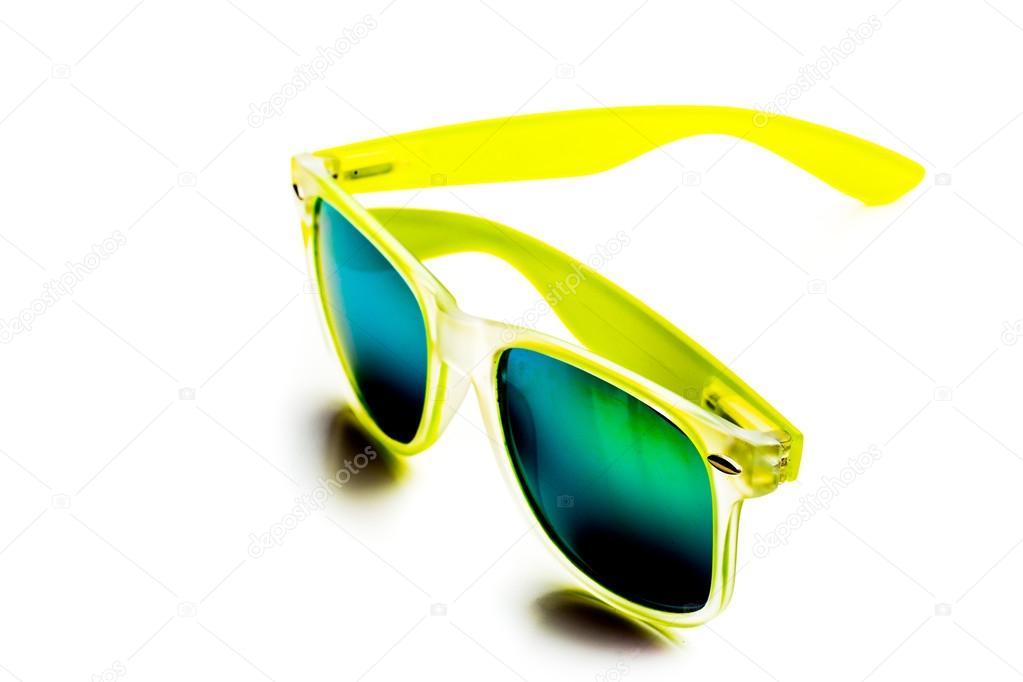 f538c23aff Αξεσουάρ γυαλιά ηλίου κίτρινα — Φωτογραφία Αρχείου © Fotofabrika ...