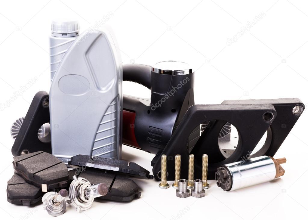 Auto-Motor-Teile — Stockfoto © Fotofabrika #92777894