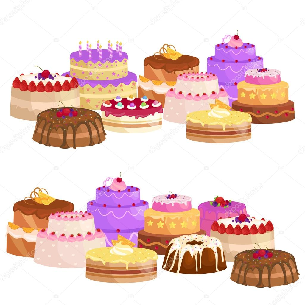 Sussigkeiten Kuchen Mit Verschiedenen Fullung Schokolade Dessert