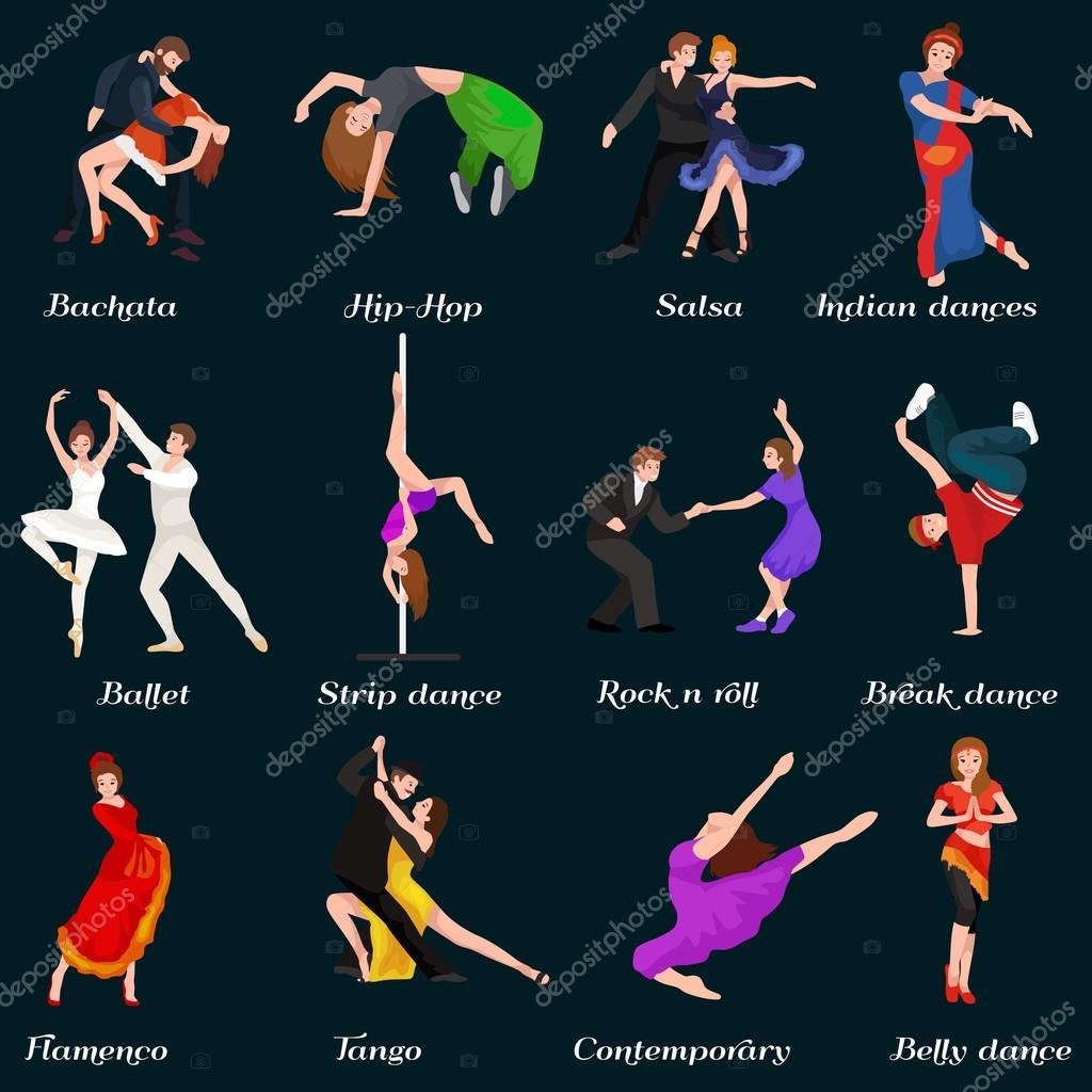 Strip dance steps