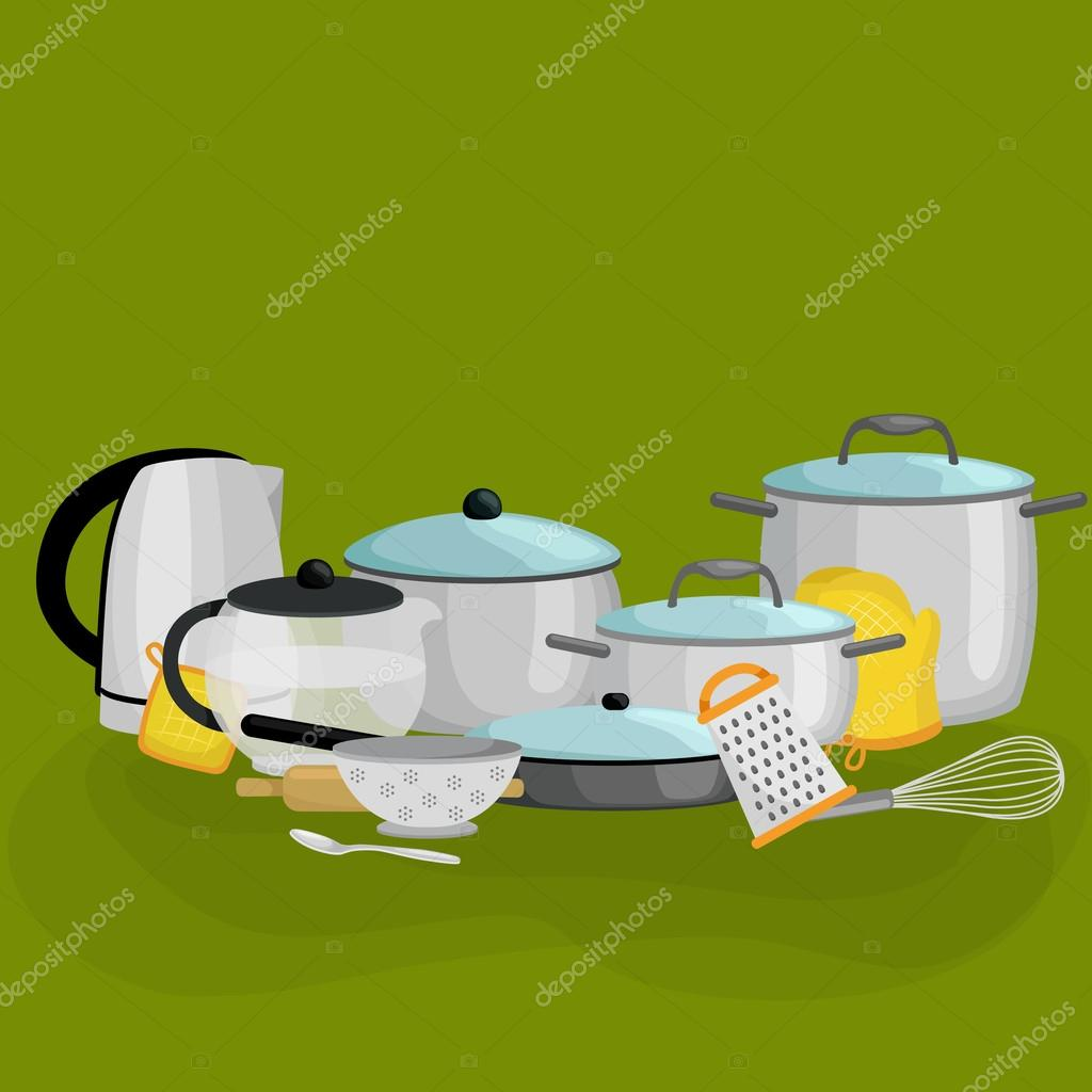 Food And Cooking Banner Set With Kitchenware Utensils Kitchen Set Of Tools For Cook Or Cooking Meals Vector Illustration Of Isolated Kitchen Utensil Background With Utensil Cook Equipment Stock Vector C