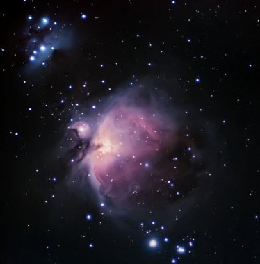 Orion Nebula Night sky Deep Space
