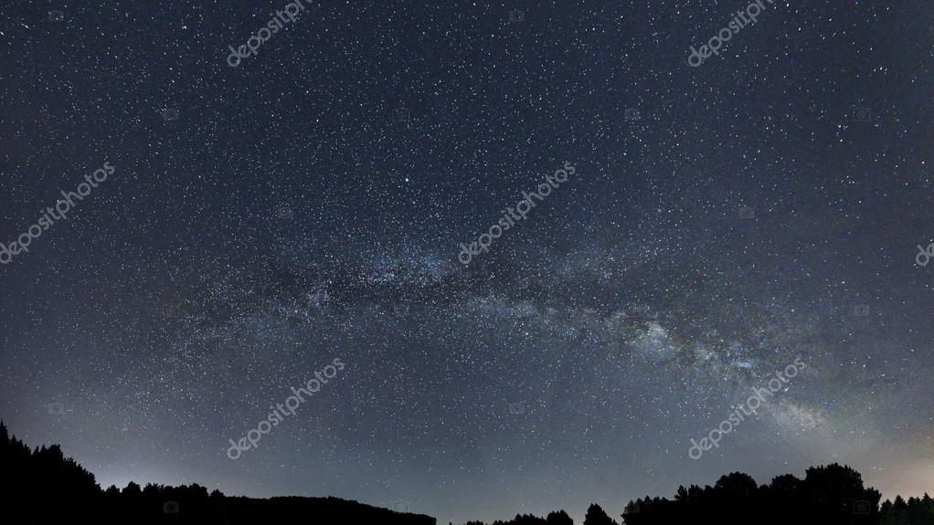Milky Way galaxy beautiful night sky