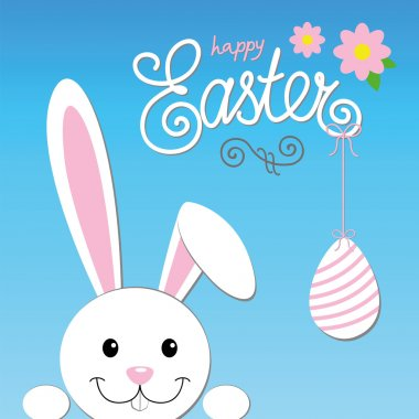 easter card happy bunny