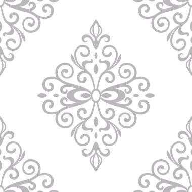 victorian ornament seamless pattern