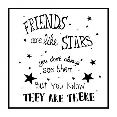 friends inspirational quote