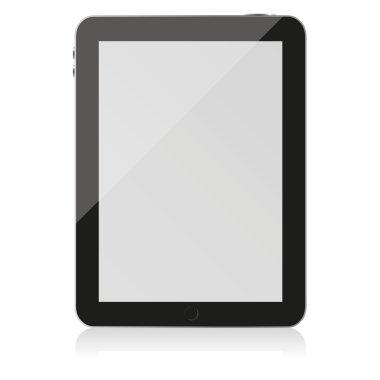 digital tablet vector illustration