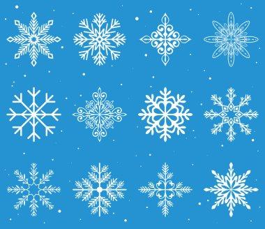 christmas ornament snowflakes