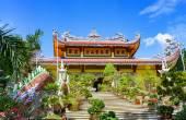 Tung Lam Pagoda buddhistické. Nha Trang. Vietnam