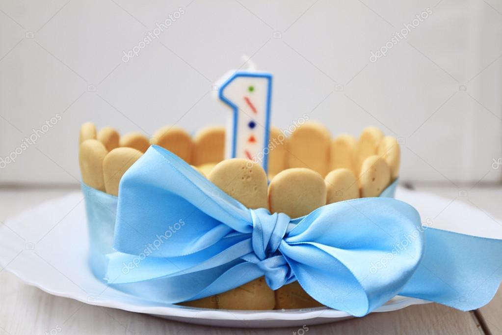 Kuchen Fur 1 Jahr Baby Stockfoto C Summer Fox 103132082