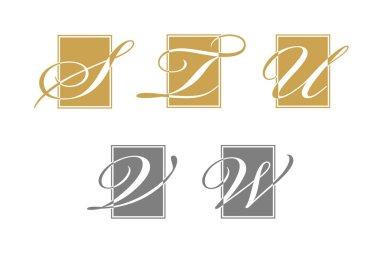 Alphabet / Letter logo designs