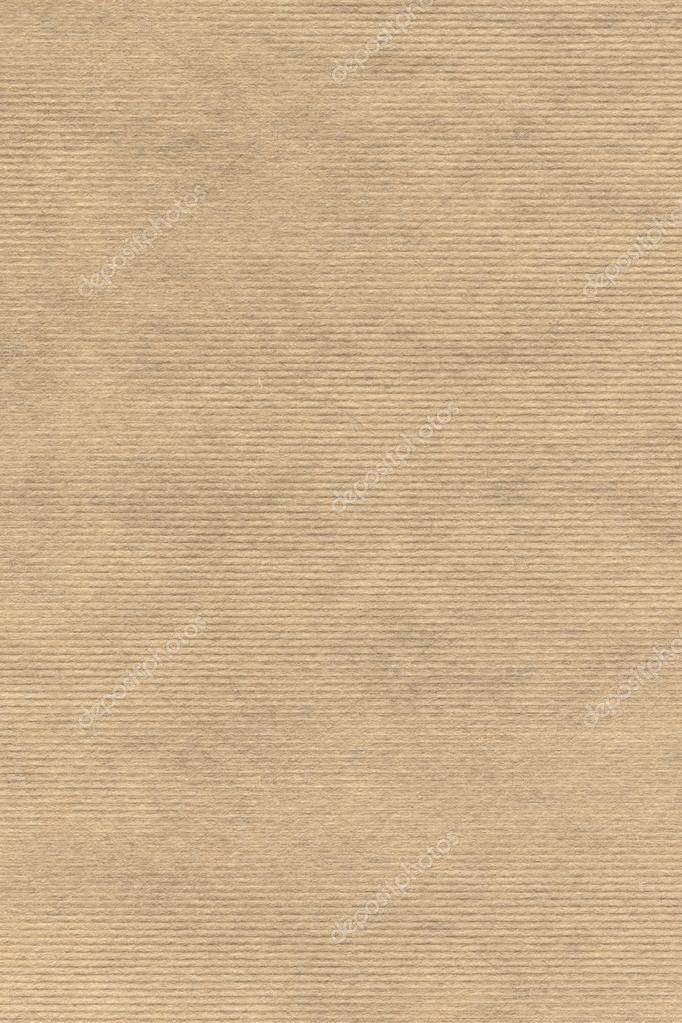 Old Recycle Striped Kraft Paper Grunge Texture Sample Stock Photo