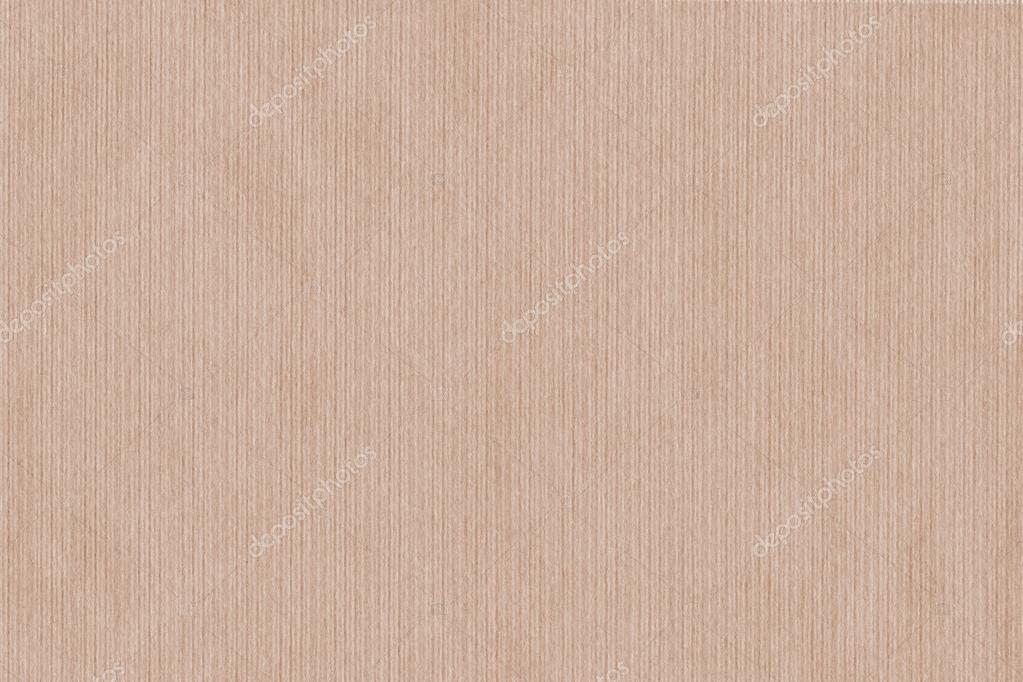 Apricot Pale Red Striped Recycle Kraft Paper Coarse Grunge Texture