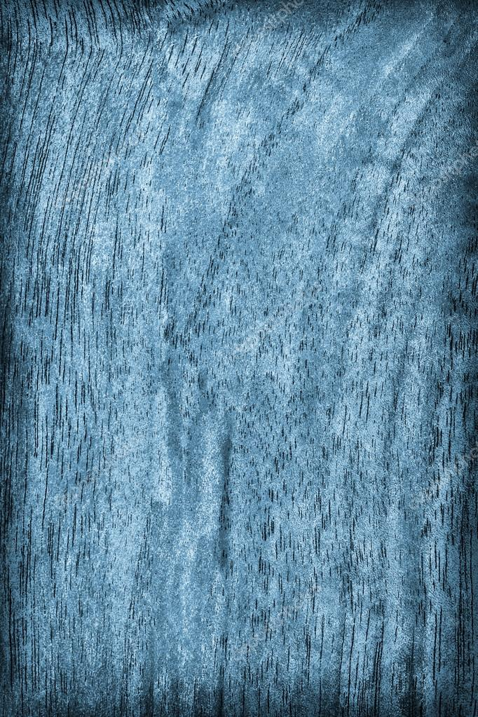 Natural Walnut Wood Bleached and Stained Blue Vignette Grunge Texture Sample
