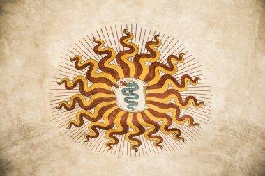 Arms il Biscione Visconti Sforza