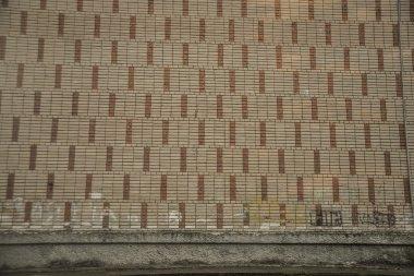 Old brick wall fragment