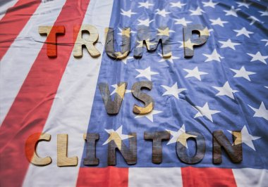 Presidential Candidates.  Trump vs  Clinton
