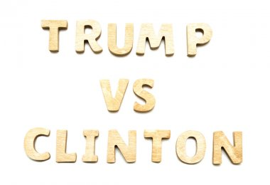 Candidates Donald Trump vs Hillary Clinton