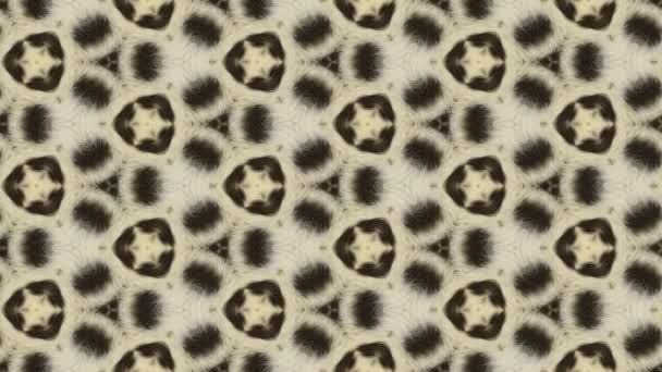 Leopardí abstraktní pozadí animace