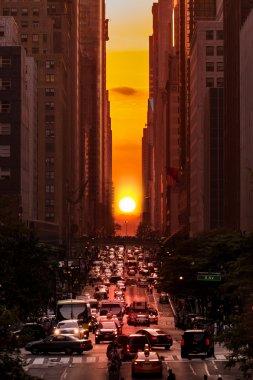 Manhattanhenge in New York City