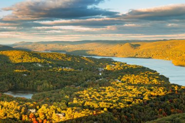 Aerial view of Hudson Valley