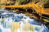 Waterfall on Little Bushkill creek