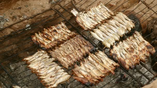 Malé ryby na grilování grilování