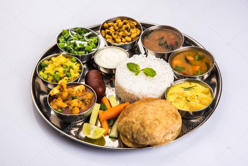 Indian Thali Indian Food Thali Punjabi Thali Punjabi Food Thali