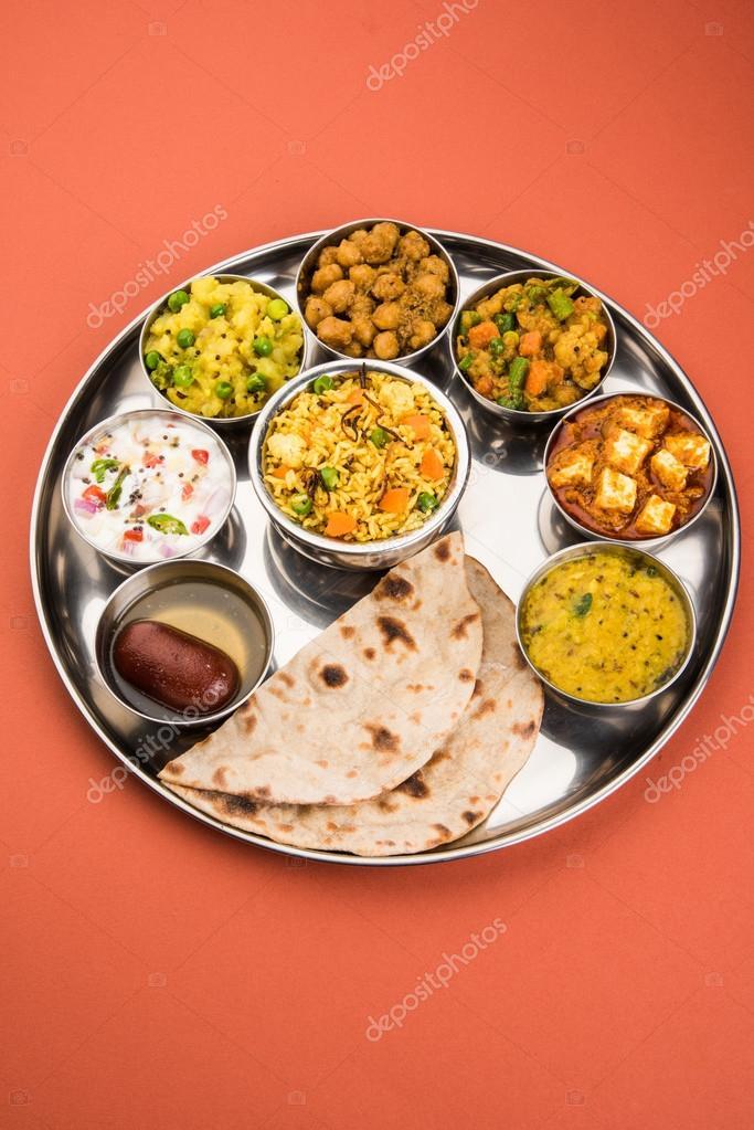 Indian Thali Indian Food Thali Punjabi Thali Punjabi Food