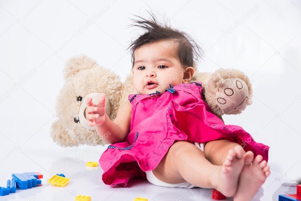 Naked toddler indian girl commit error