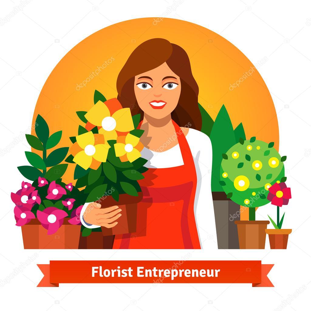 Картинки флорист для детей