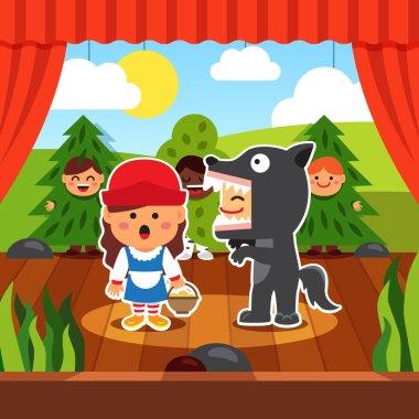Kindergarten theatre play