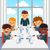 Vezérigazgatója beszédet üzleti vezetői csapat