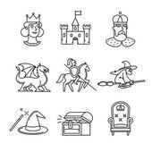 Fényképek Tündér farok ikonok